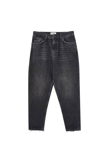 Τζιν παντελόνι loose fit premium