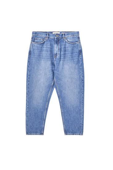 Jeans med ledig passform