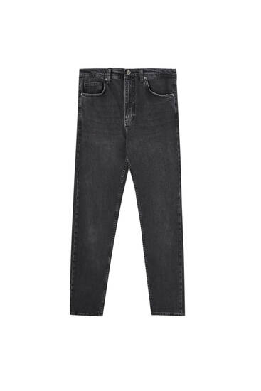 Tapered comfort jeans