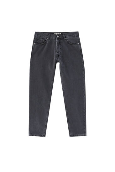 Basic standard fit jeans