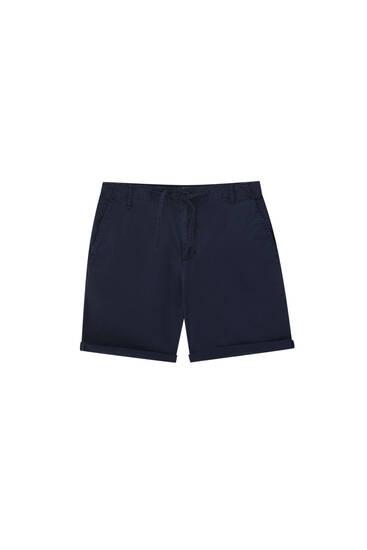 Bermuda chino accessoire - Coton biologique (au moins 50%)