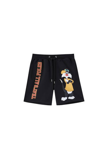 Bermuda tipo pants Looney Tunes Silvestre