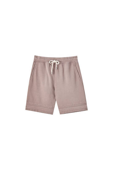 Homewear capsule collection jogger Bermuda shorts