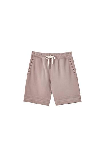 Bermuda tipo pants colección cápsula Homewear