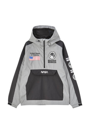 NASA anorak with hood