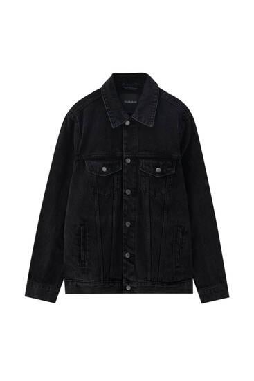 Veste en jean basique coton