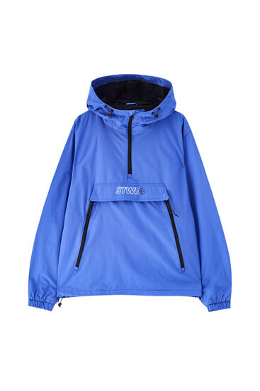 Basic STWD anorak jacket