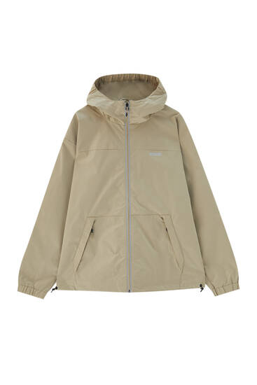 Water-repellent ripstop raincoat