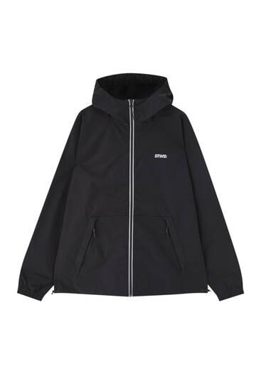Water-repellent ripstop raincoat