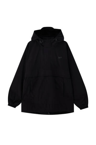 Hooded STWD anorak jacket