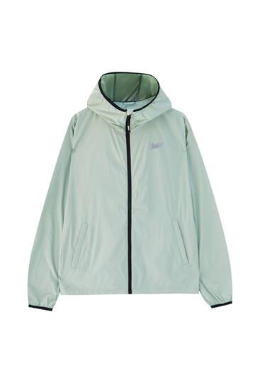 Lightweight STWD hooded raincoat
