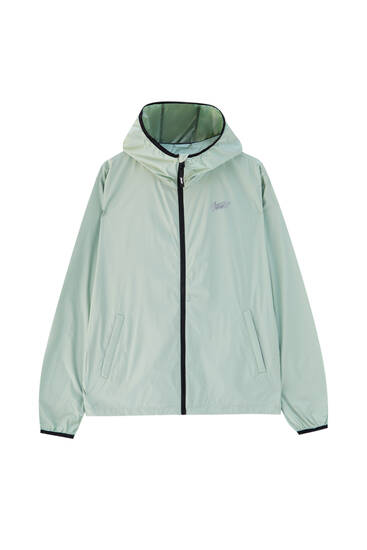Lightweight STWD hooded raincoat