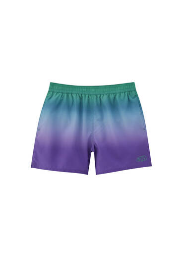 STWD ombré swimming trunks