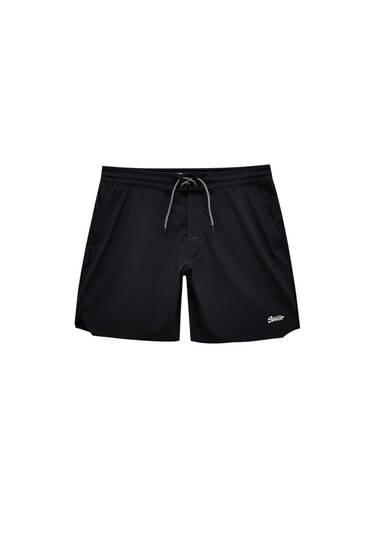 Чорні купальні шорти STWD з технічної тканини
