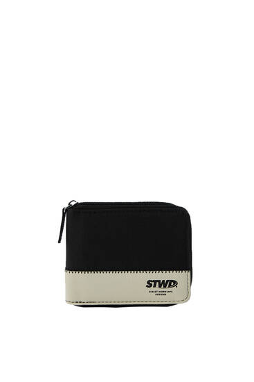 Black STWD panel wallet