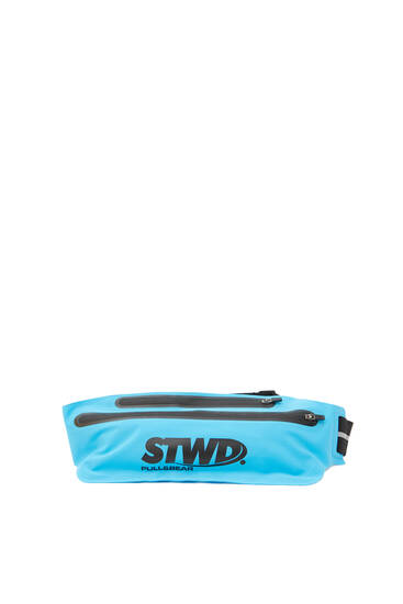 Blue STWD belt bag