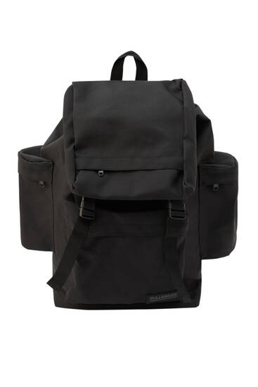 Hiking backpack with side pockets