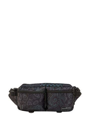 Bandana print belt bag