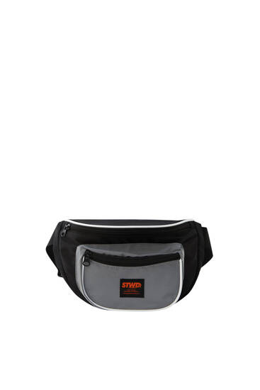 Belt bag with reflective detail
