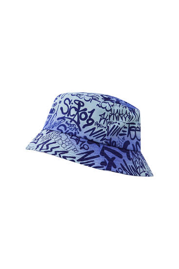 All-over print bucket hat