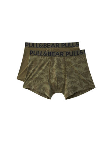 2-Pack jungle boxershorts
