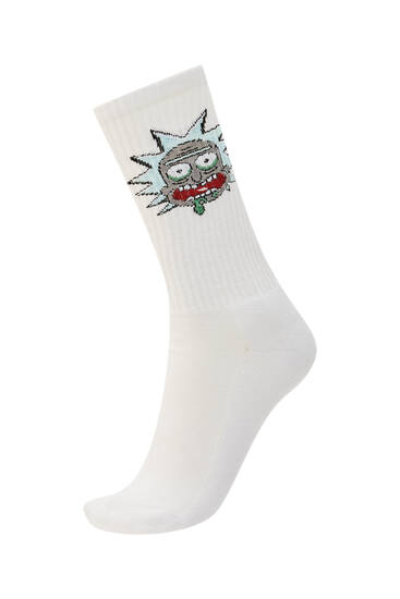 Long Rick & Morty socks