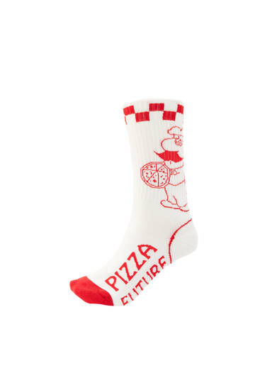 Pizza sports socks