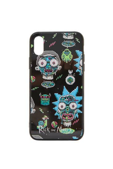 Rick & Morty pixel smartphone case