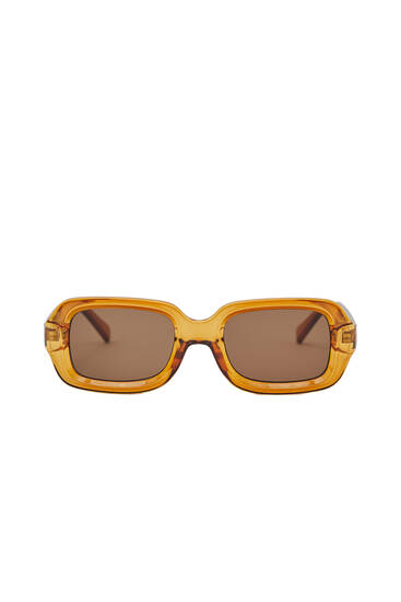 Brown lens sunglasses