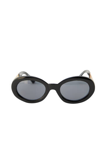 Sunglasses with Sicko19 temples