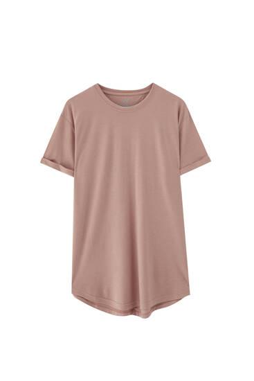 Μπλούζα long fit basic