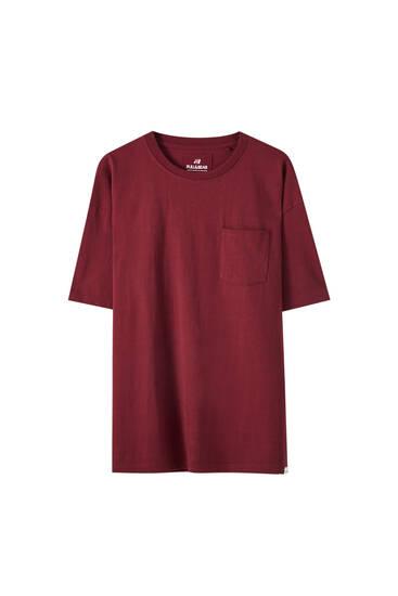Camiseta básica tejido - Algodón orgánico (al menos 50%)