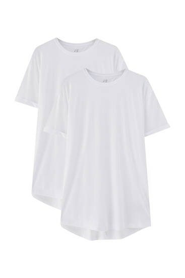 Pack of 2 long T-shirts