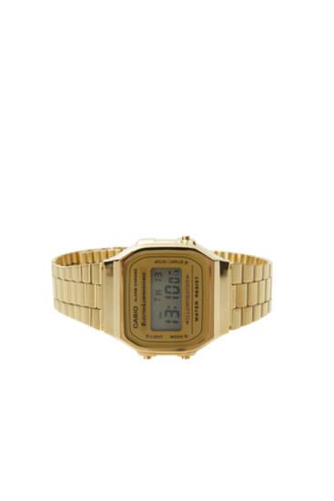 Gold-coloured Casio digital watch