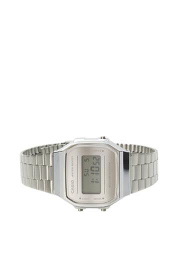 Grey Casio digital watch