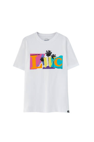 Bela majica Lawc