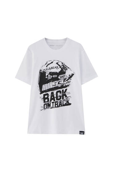 MM93 Back on Track helmet T-shirt