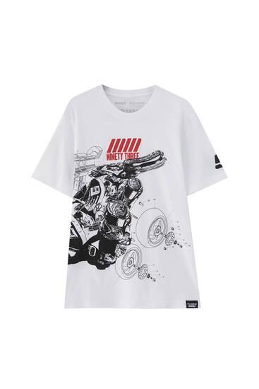 MM93 motorbike parts T-shirt