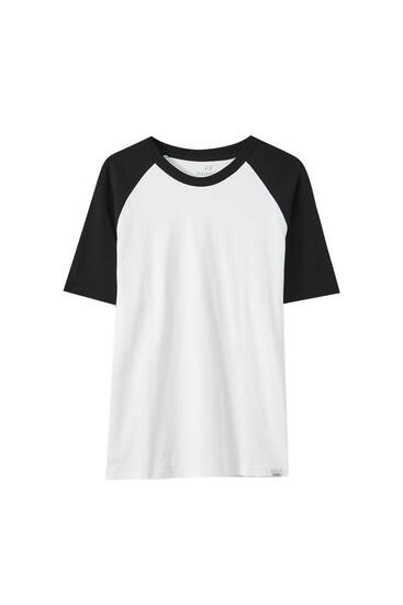 Logo T-shirt with raglan sleeves