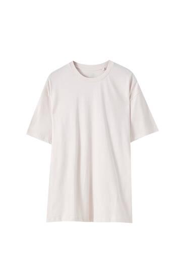 Camiseta oversize manga corta