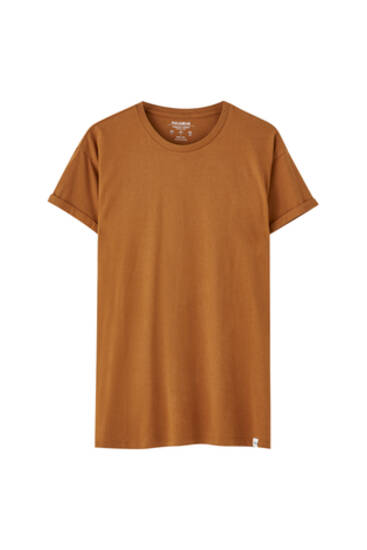 Basic, muscle fit T-shirt