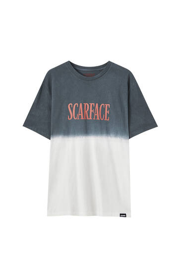 T-shirt do Scarface com tie-dye