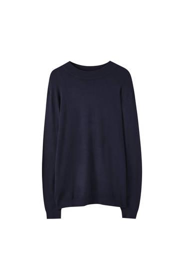 Jersey manga larga cuello perkins