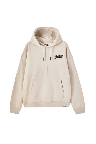 Premium hoodie with patch