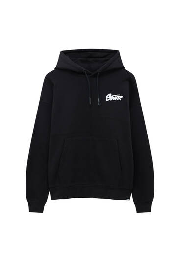 Sweat premium à capuche et empiècement