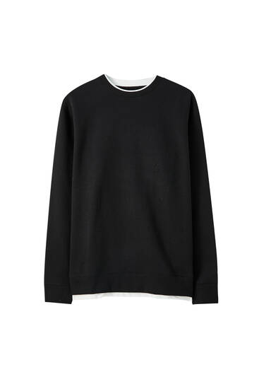 Basic-Sweatshirt im Regular-Fit