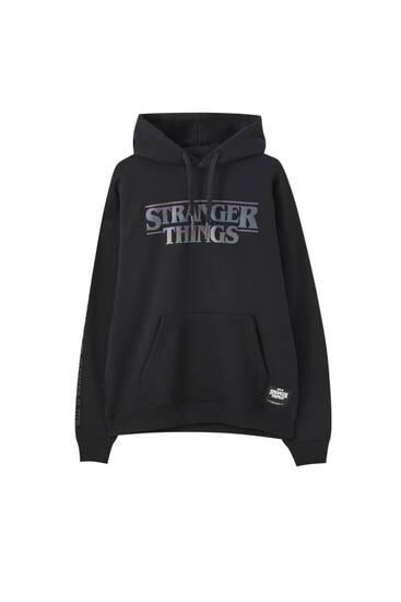 Stranger Things reflective hoodie