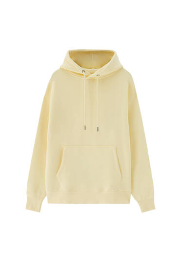Basic comfort hoodie - ecologically grown cotton (at least 50%)