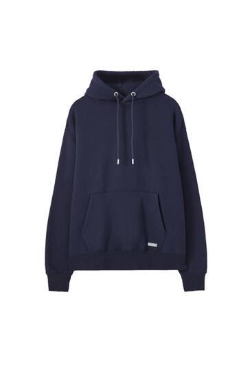 Sweatshirt básica comfort fit