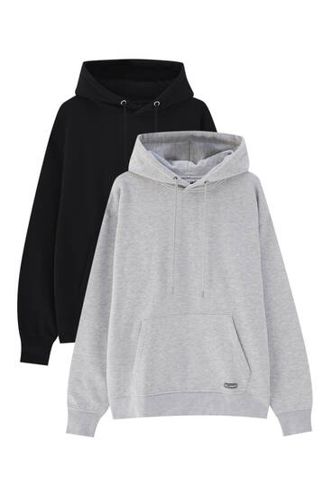 Pack of 2 hoodies